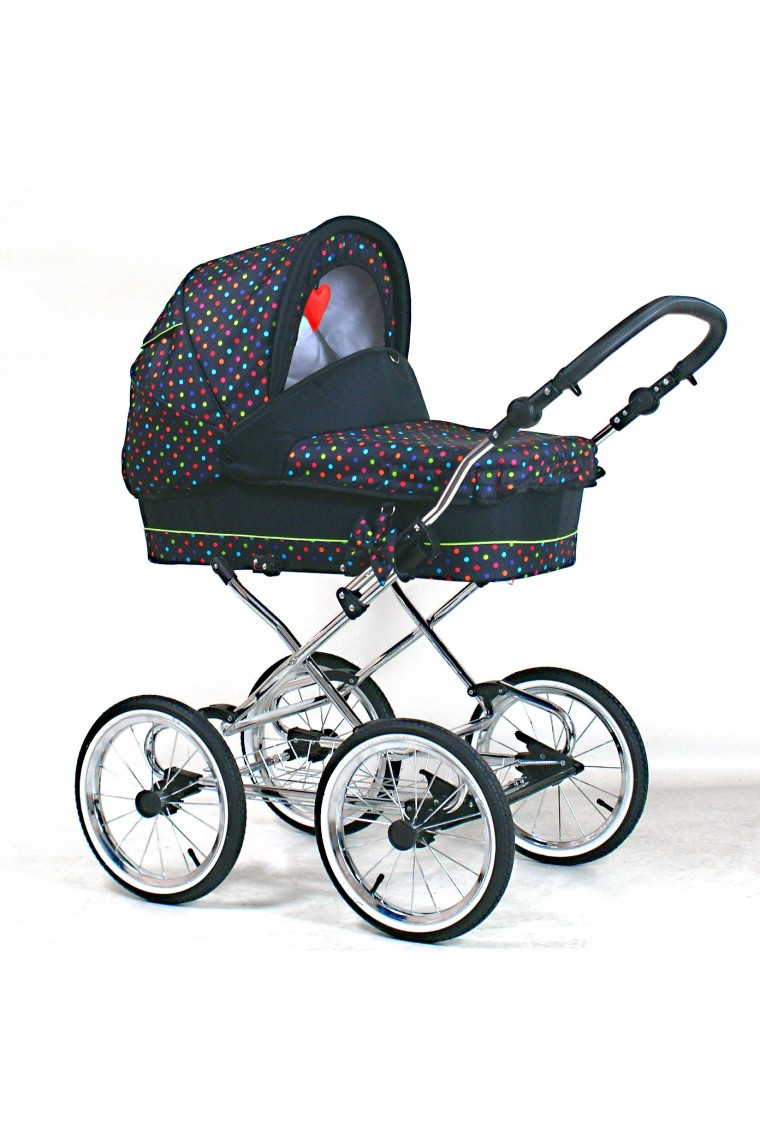 classic pram guilletta 3 in 1 travel system. Black Bedroom Furniture Sets. Home Design Ideas