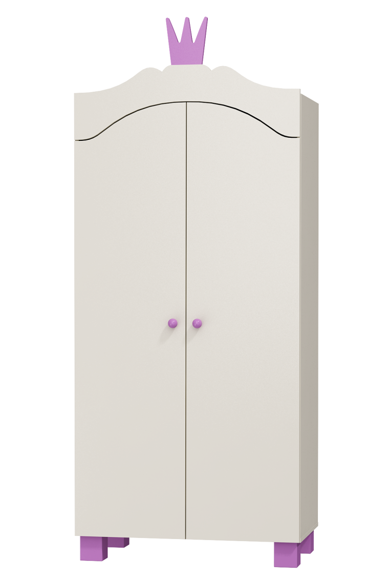 wardrobe princess 2 doors. Black Bedroom Furniture Sets. Home Design Ideas