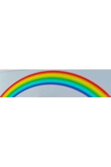 wall sticker rainbow rainbow wall sticker by spin collective