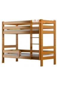 Solid pine wood bunk bed Casper 200x90 cm