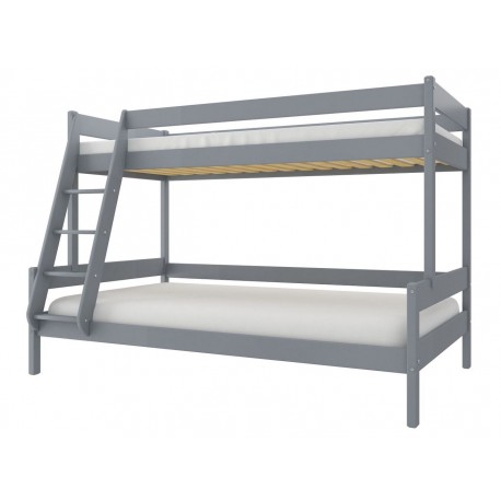 Solid pine wood bunk bed Fred 190x90/120 cm