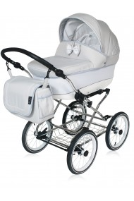 Classic pram Candy Silver 3 in 1 travel system