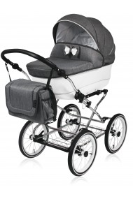 Classic pram Candy Graphite 3 in 1 travel system