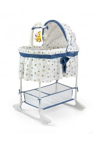 Cradle for baby Sweet Melody 4 in 1 Blue