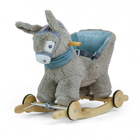 Rocking Donkey Polly grey