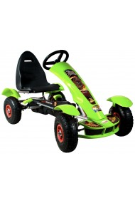 Go-cart Formula Sport green