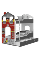 Bunk bed Fireman House