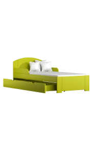 Solid pine wood junior bed Billy 180x80 cm