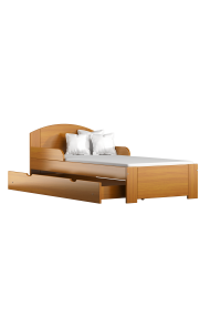 Solid pine wood junior bed Billy 200x90 cm