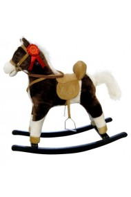 Rocking horse Mustang Dark Brown