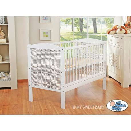 Wicker cotbed
