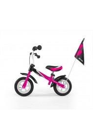 Dragon deluxe - balance bike with brake - pink