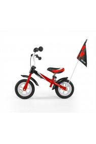 DRAGON DELUXE - balance bike with brake - red