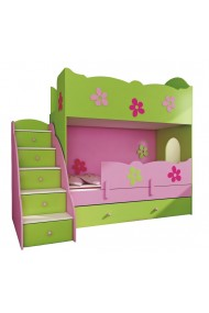 Bunk bed Classic 200x90 cm + stairs