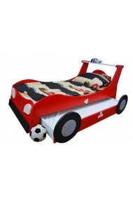 Trundle roll-out bed Car 180x90 cm