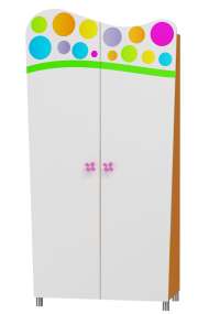 Wardrobe Rainbow 2-doors
