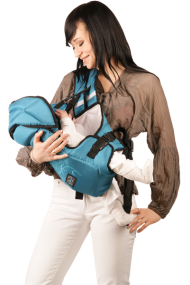 Multifunctional baby carrier Rainbow