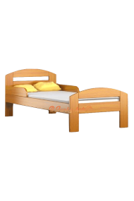 Solid pine wood junior bed Tim2 160x80 cm