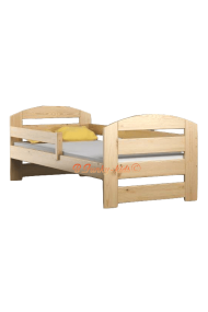 Pine wood junior bed Kam3 160x80 cm
