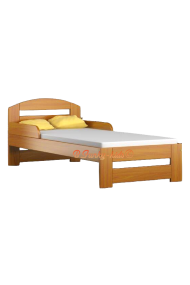 Solid pine wood junior bed Tim1 160x70 cm