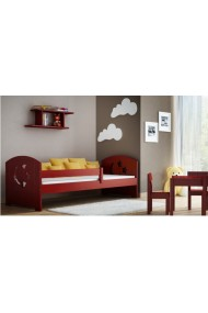 Solid pine wood daybed Molly with drawer 180x80 cm