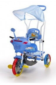 Trike Motorcycle blue