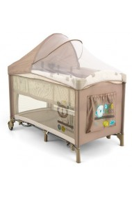Travel cot with changer Mirage Beige Lion