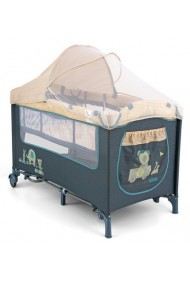 Travel cot with changer Mirage Blue Toys