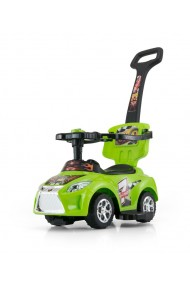 Ride-on car 3 in 1 KID green
