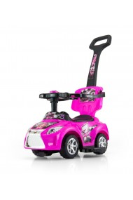 Ride-on car 3 in 1 KID pink
