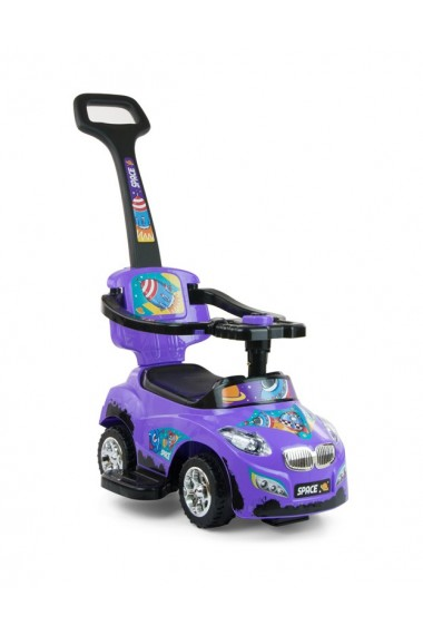 Ride-on car 3 in 1 HAPPY purple