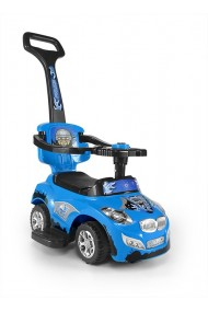 Ride-on car 3 in 1 HAPPY blue