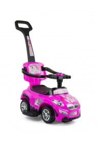 Ride-on car 3 in 1 HAPPY pink