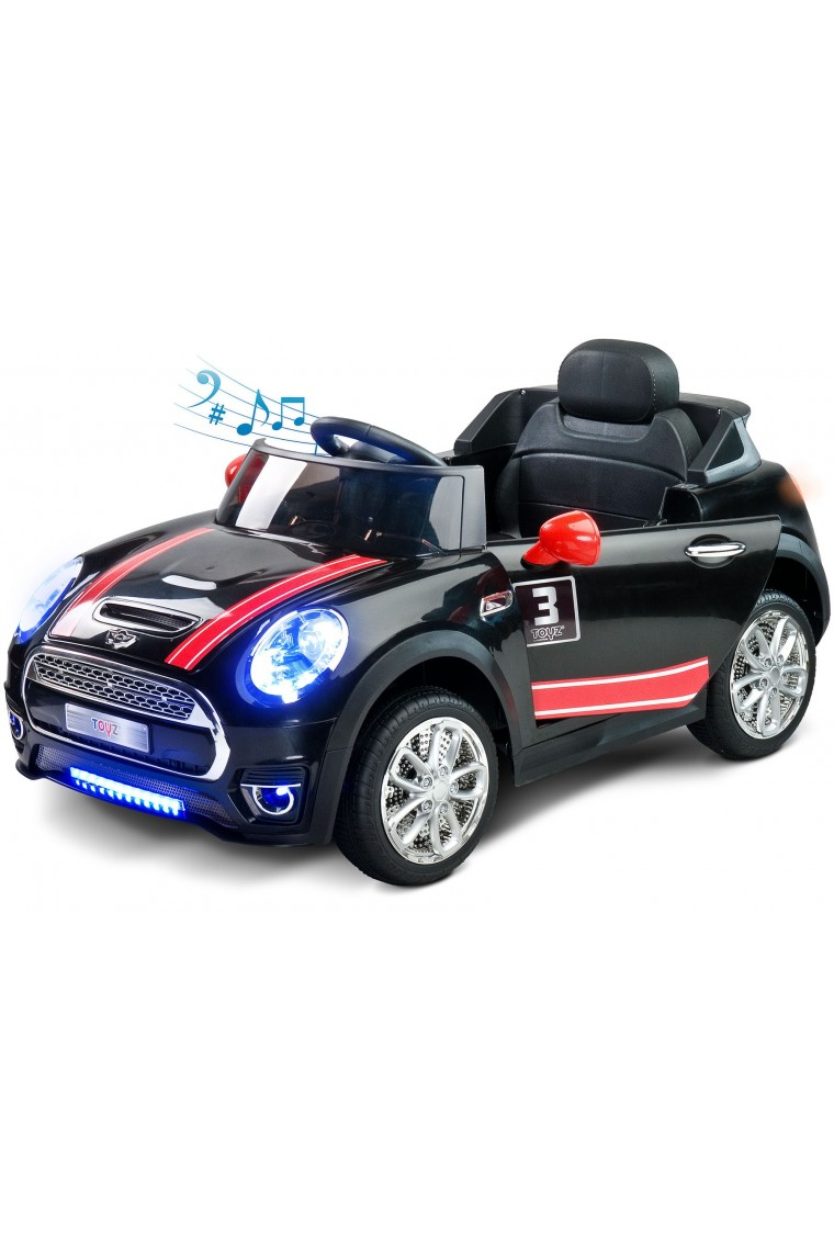Electric Ride On Car Maxi 12v Black With Remote Control
