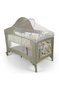 Travel cot with changer Mirage Bird