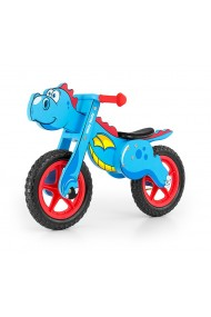 Dino blue - balance running bike