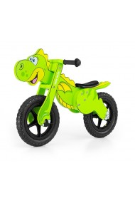 Dino green - balance running bike