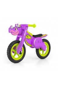 Dino purple - balance running bike