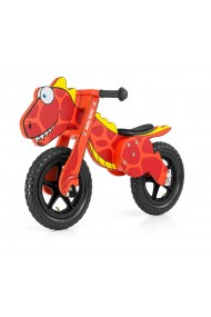 Dino red - balance running bike