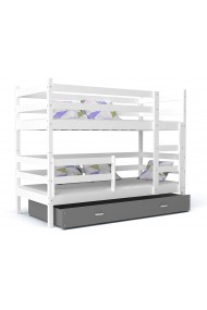 Bunk bed John with drawer 190x80 cm