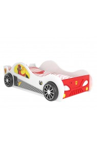Racing Car bed with LED lights 160x80 cm
