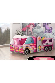 Pony Truck car junior girl bed 140x70 cm